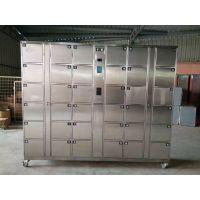 安存电子供应BXG-TM66-1加工定制电子式不锈钢寄存柜