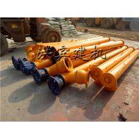 LSY型螺旋输送机8米长价格多少 郑州小型螺旋输送机