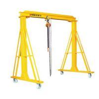 专业定制优客力可移动轻型龙门吊 轻型龙门架 门架式起重机