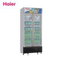 海尔冷柜SC-450G 超市饮料冷藏柜正品联保商用冷藏展示柜只供上海