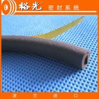 供应裕光进口三元乙丙(EPDM)7202-D型棕色 门窗密封条