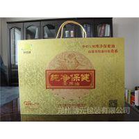 河南包装厂供应保健药品礼盒 金卡手提木质包装盒