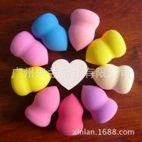【葫芦粉扑】广州兴兰粉扑批发 非乳胶化妆用品绵 葫芦棉  可定做