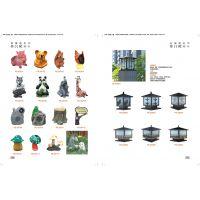 供应宁夏周边照明灯 树脂仿石园林音箱草坪灯(CP-025)