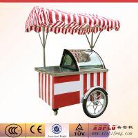 冰淇淋推车展示柜 广东硬冰激凌柜 冷冻冷藏柜