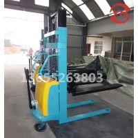 厂家现货半电动堆高车1吨2米自动升降装卸车电动升降液压升高车可根据实际需求定制