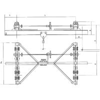 供应 SDXQ-3型手动单梁悬挂起重机 河南行车 -欧肯起重18439995888