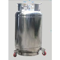 【能共实业优势供应】YDZ-50自增压液氮罐 亚西液氮罐,质保一年