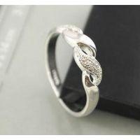 设计 速卖通爆款 简约镀银面具戒指 一元店货源 ALQR20150128