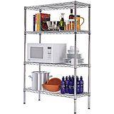 微波炉架子 电器层架 4层金属置物架 厨房收纳架 整理架 可零售