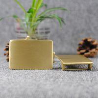 diy纯铜皮带扣腰带扣 光板皮带扣 实心铸造抛光3.8CM带专用扣