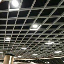 供应成都金属吊顶装饰厂家生产彩色油漆滚涂铝格栅 六角形铝格栅 木纹铝格栅天花吊顶