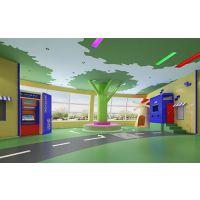 幼儿园设计、金鸽子幼儿园装修设计、室外幼儿园设计