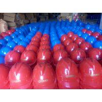 电力用ABS 材质 插口式 红色安全帽价格 石家庄金淼电力生产