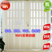 天津pvc塑料玻璃悬挂折叠门平移推拉门室内商店厨房阳台隔断密封