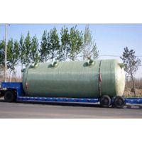 玻璃钢化粪池 机制缠绕储罐 食堂用油水分离器 50立成品化粪池