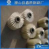 大量供应尼龙丝pvc板刷,条刷,圆盘刷,尼龙丝毛刷辊 推广