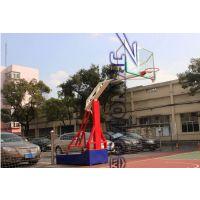 东莞带轮子移动篮球架 学校用的蓝色篮球架 可移动篮球架厂家直销