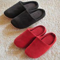 外贸 冷冻定型 情侣家居地板拖鞋 冬季居家鞋 棉拖鞋