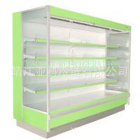风幕柜全国联保|立式风幕展示柜|畅优酸奶风幕柜|冷柜生产厂家
