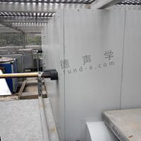 动力设备噪声治理 为浦东碧云泰晤士商场提供楼顶压缩机风机降噪工程 噪音处理 隔声 吸声 隔音 减振