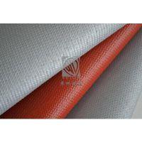 `保温套硅胶布,防火阻燃硅胶布生产厂家,红色灰色单面双面防火布厂家