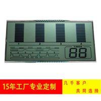SAJ/三晶 LCD液晶屏 脉冲仪显示屏 TN段码液晶显示屏定制