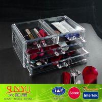 热门定制优质产品亚克力化妆品展示架,限量版 (来电设计加工)