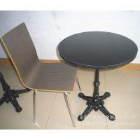 供应新款欧式餐厅桌椅 圆形欧式复古桌 西餐厅配套圆桌
