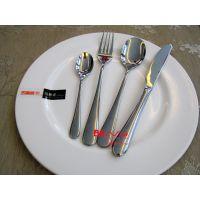 茶餐厅餐具 私房菜刀叉 西餐厅 不锈钢刀叉 甜点屋甜品勺 WNK刀叉