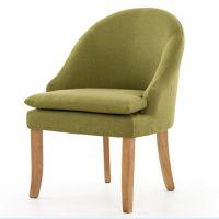 时尚餐椅 实木软包坐垫椅子 高级火锅椅 简约咖啡厅专用椅