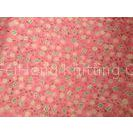 Fluffy Woven Flower Printed Knit Fabric For Bed Sheet ,  Sportswear