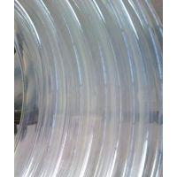 不带钢丝PU透明全塑管耐磨电缆护套软管
