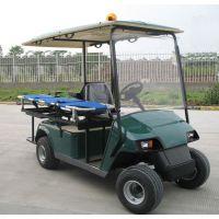 两座电动高尔夫球款医疗担架车 双人座小型救护急救担架电瓶车 厂家专业生产