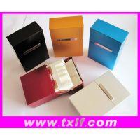 供应来福20支装磁性翻盖烟盒金属包装盒 可定做LOGO可氧化多色92.5*60*27.6mm