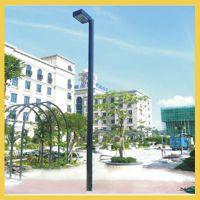 长沙社区篮球场照明灯杆高度|望城道路照明埋地灯杆专业安装