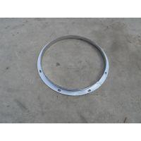 风管法兰材质加工 角铁、扁铁法兰江大螺旋风管厂专业加工