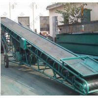 袋装玉米输送上车运输机价格 集装箱装车输送机 润丰机械