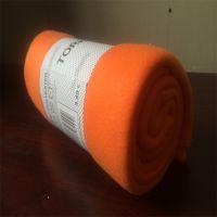 外贸热销 摇粒绒抗起球毛毯摇粒绒休闲毯双面绒绒毯素色印花定制