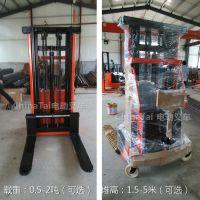 直销半电动堆高车 电动装卸车 电动叉车 电动堆垛机 送货上门