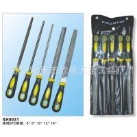 厂家直供锉刀 各种材质规格钢锉 5pc塑柄套锉