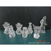 家居日用品批发厂家直销供应高档玻璃水晶挂件,圣诞