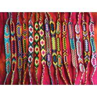 尼泊尔民族风纯手工编织手链 男女士手链手绳 DIY饰品配件线材