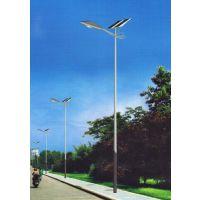 太阳能灯杆 9米路灯杆 led路灯杆 单臂 太阳能路灯杆6米