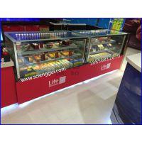 蛋糕保鲜柜 佳伯蛋糕冷藏展示柜 新疆蛋糕柜定做厂家