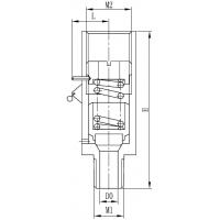 DA-08A低温安全阀 气瓶安全阀 方鼎低温