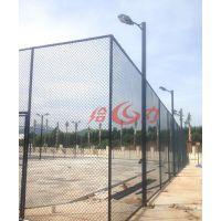 肇庆户外篮球场防护围安装施工|四会公园运动场围网专业生产厂家