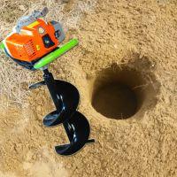 湖南挖树坑机 潾钰奇多用打洞机 小型挖坑机(图) 供应创业机器