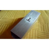 山东电镀2.0厚拉丝铝方管,玫瑰金色铝方管 欧佰天花厂家直销