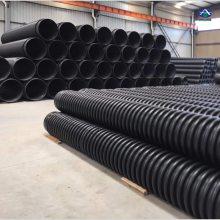 大型埋地HDPE排水管工程 增强缠绕B型管 克拉管环刚度 河北泰沃
